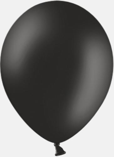 025 Black Reklamballonger med fototryck