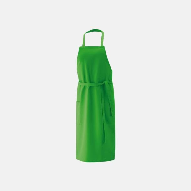 Lemon Green (bib 100 x 80 cm) Förkläden i 5 varianter med reklamtryck