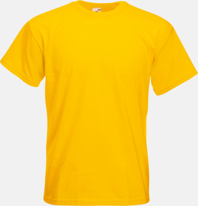 Sunflower Kraftig t-shirt med reklamtryck