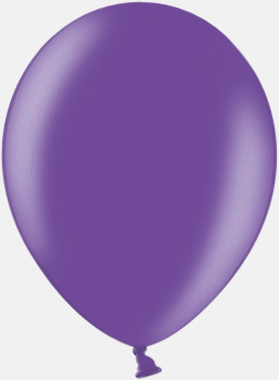062 Purple Ballonger i unika färger med eget tryck