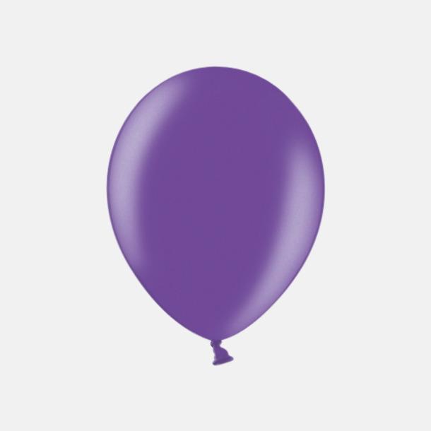 062 Purple (PMS 2587 U) Ballonger i unika färger med eget tryck
