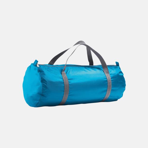 Aqua Resväskor i 2 storlekar med reklamtryck