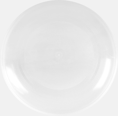 Transparent Frisbees med reklamtryck