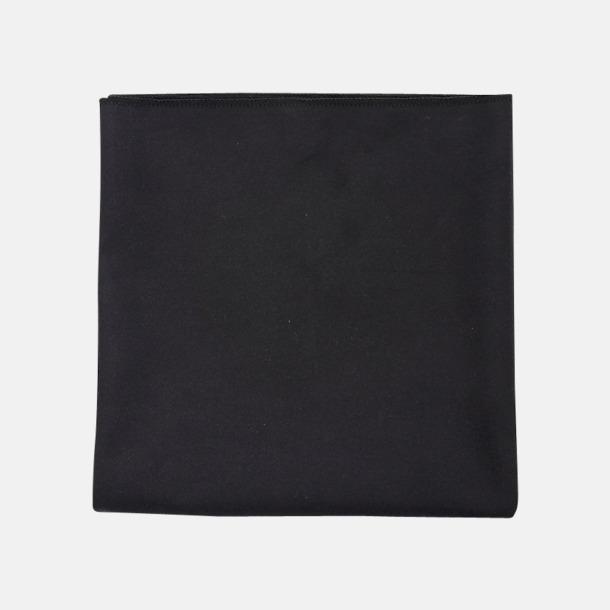 Svart Sportiga microfiberhanddukar i 3 handdukar med reklambrodyr