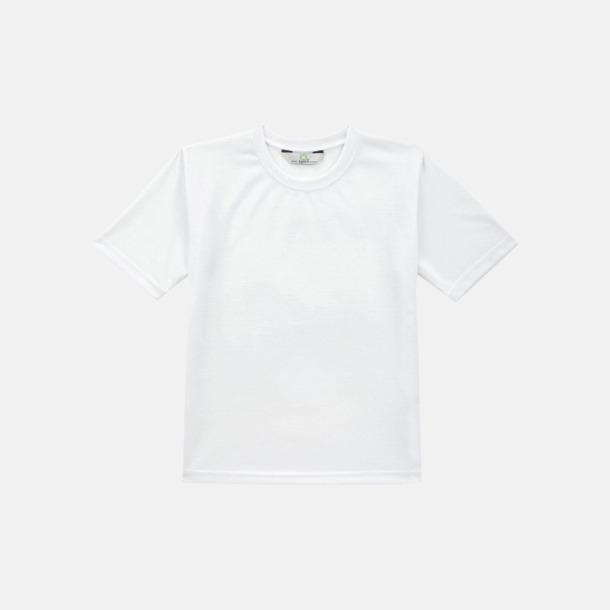 Vit T-shirt med specialtryck för åldrarna 3-14 år