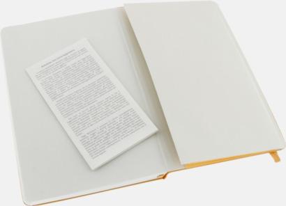 Innerficka (large) Moleskine-böcker med blanka sidor och hårt omslag - med reklamtryck