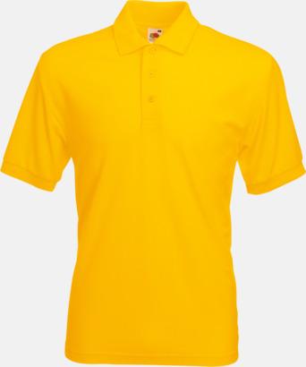 Sunflower Pikétröjor med reklamtryck eller brodyr