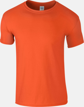Orange Billiga t-shirts med tryck