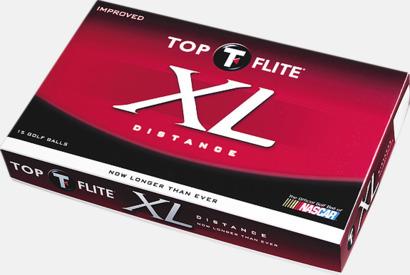 Top Flite XL Distance - Billiga märkesbollar med tryck