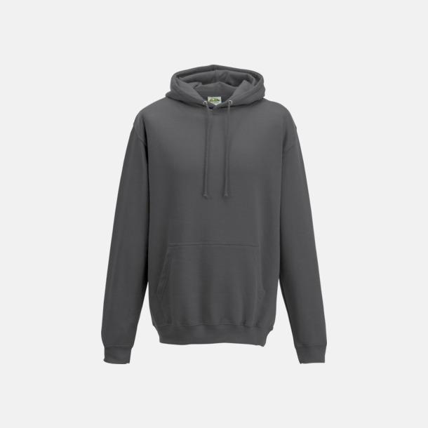 Storm Grey (solid) Billiga collegetröjor i unisexmodell - med tryck
