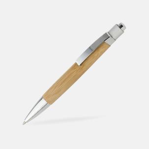 Bläckpennor med bambupennkropp med reklamtryck