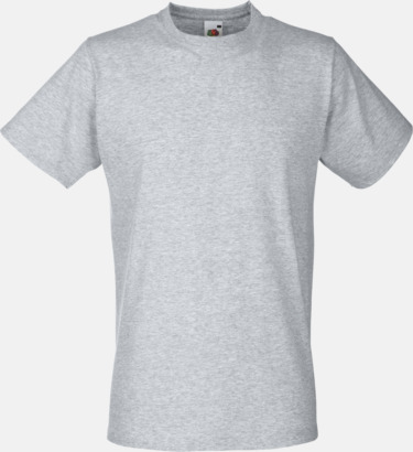 Heather Grey Tajtare reklamt-shirt med figurnära passform