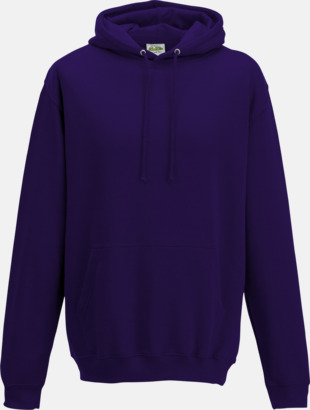 Ultra Violet Billiga collegetröjor i unisexmodell - med tryck