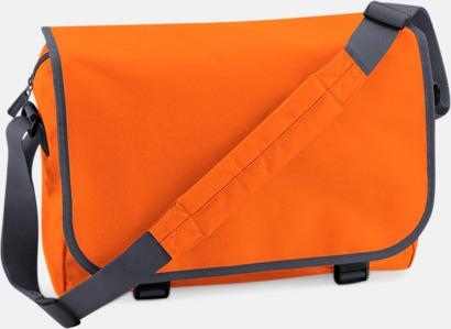 Orange/Graphite Grey Billiga väskor med reklamtryck