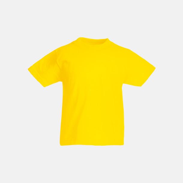 Gul T-shirt barn - Valueweigth barn t-shirt
