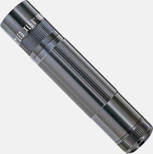 Stålgrå Maglite XL 50 LED med gravyr