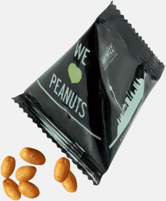 Jordnötter Snacks från Ültje eller Roland i pyramidpåsar med reklamtryck