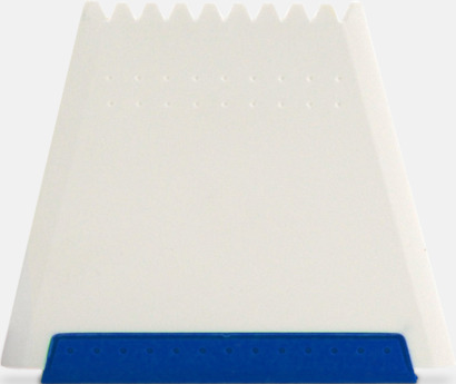Blå Högkvalitativa isskrapor med fototryck