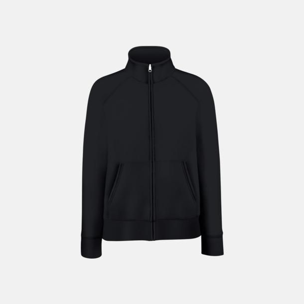 Svart Figursydd jacka eller tröja för damerna