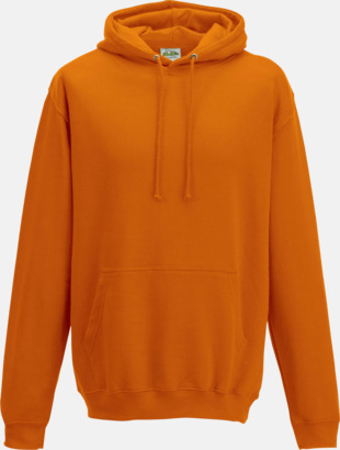 Orange Crush Billiga collegetröjor i unisexmodell - med tryck