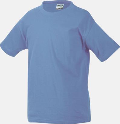 Aqua Barn t-shirtar av kvalitetsbomull med eget tryck