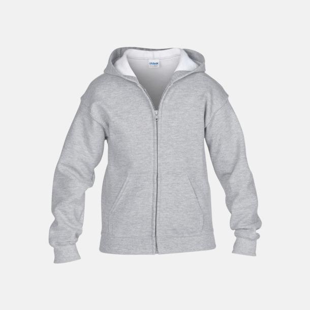 Sport Grey (heather) Barntröjor från Gildan med reklamtryck eller -brodyr