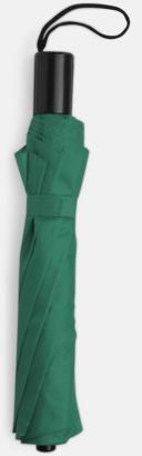 Grön Kompaktparaply i många färgalternativ