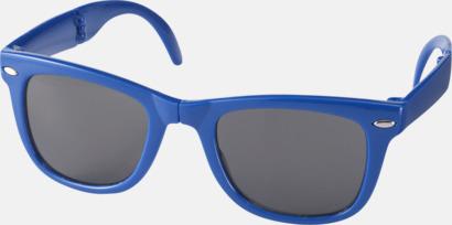 Royal (PMS 286C) Solglasögon med vikbar ram - med tryck