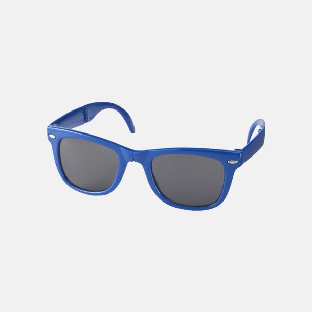 Royal (PMS 286C) Solglasögon med vikbar ram - med reklamtryck