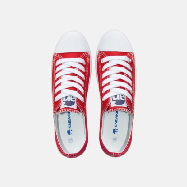 Standardfärg Röd Egendesignade sneakers