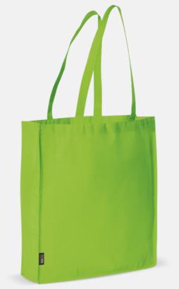 Ljusgrön Miljövänlig bärkasse med eget tryck