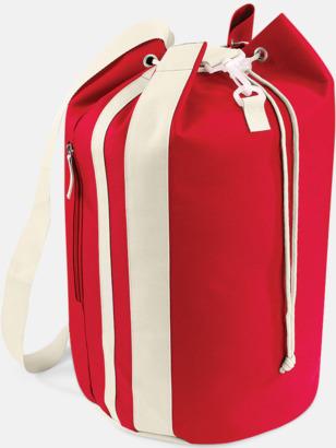 Classic Red/Sand Väska i sjömansstil