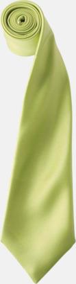 Limegrön Slipsar i supermånga färger
