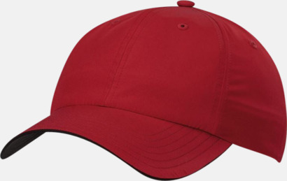 Power Red Adidas Performance Cresting Cap med reklambrodyr