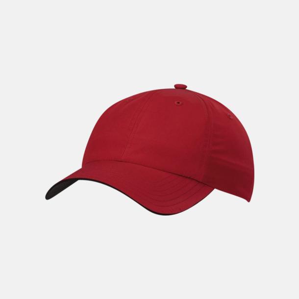 Power Red Adidas Performance Cresting Cap med reklambrodyr