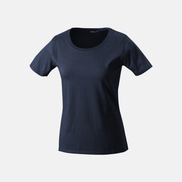 Petrol T-shirtar av kvalitetsbomull med eget tryck