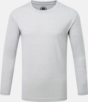 Silver Marl (pojke) Färgstarka långärms t-shirts i herr-, dam och barnmodell