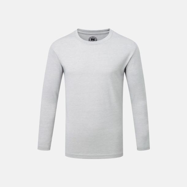 Silver Marl (barn) Färgstarka långärms t-shirts i herr-, dam och barnmodell