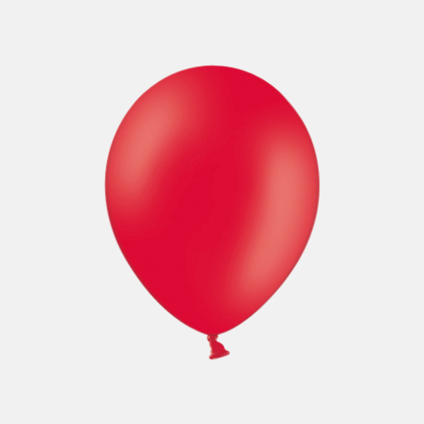 Red 101 (PMS 186) Ballonger med tryck