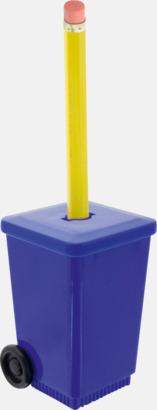 Blå Roliga pennvässare med tryck