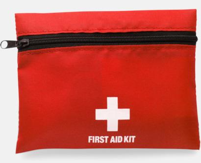 Röd / Svart Väska Firsta Aid med reklamtryck