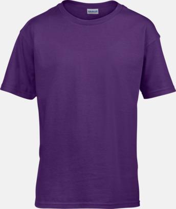 Lila Billiga t-shirts med reklamtryck