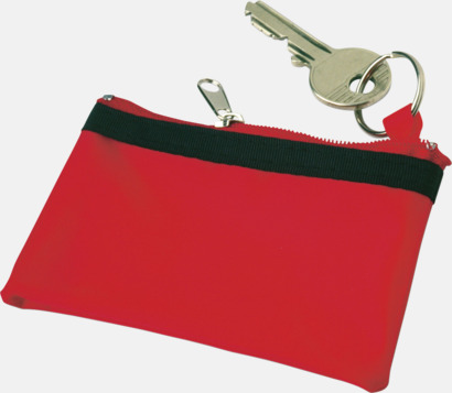 Röd Plånböcker med eget tryck