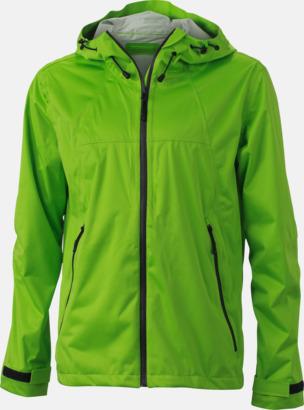 Spring Green/Iron Grey (herr) Trekkingjackor i herr- & dammodell med reklamtryck