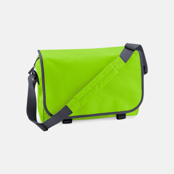 Limegrön/Graphite Grey Billiga väskor med reklamtryck