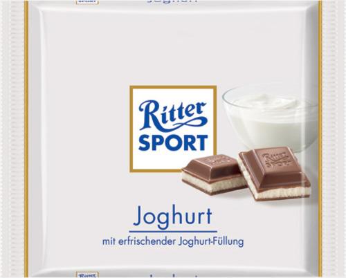 Yoghurt 100 gram-Ritter Sport choklad med reklamtryck