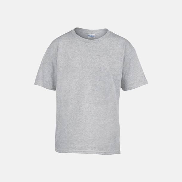 Sport Grey (heather) Billiga barn t-shirts med reklamtryck