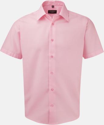 Classic Pink (kortärmad) Strykfri businessskjorta