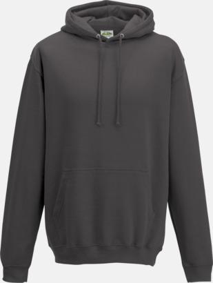 Charcoal (heather) Billiga collegetröjor i unisexmodell - med tryck