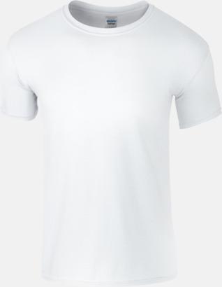Vit Billiga t-shirts med tryck
